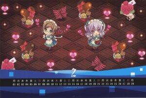Rating: Safe Score: 5 Tags: calendar carnelian chibi kantai_collection maid megane pantyhose raw_scan valentine User: peoplo