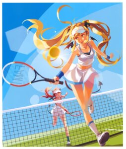 Rating: Safe Score: 23 Tags: devil horns overfiltered pointy_ears tail tennis vofan wings User: Radioactive