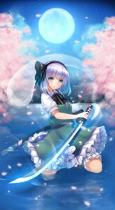 Rating: Safe Score: 48 Tags: konpaku_youmu maguro_(gulen-x) sword touhou wet User: 椎名深夏