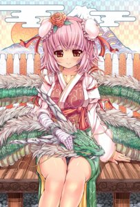 Rating: Safe Score: 34 Tags: ibaraki_kasen kanna211 monster touhou User: ddns001