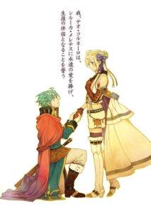 Rating: Safe Score: 13 Tags: grancrest_senki heels miyuu sword tagme thighhighs User: kiyoe
