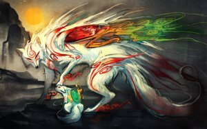 Rating: Safe Score: 33 Tags: amaterasu ookami sakimichan User: charunetra