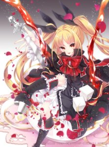 Rating: Safe Score: 36 Tags: blazblue dress gothic_lolita lolita_fashion rachel_alucard sword takamiya_ren User: Mr_GT