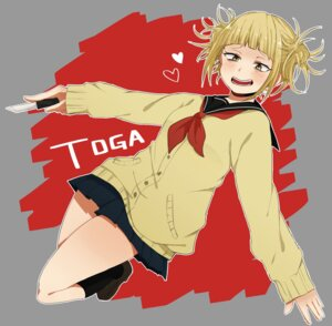 Rating: Safe Score: 14 Tags: asamikan boku_no_hero_academia seifuku sweater toga_himiko User: joshuagraham