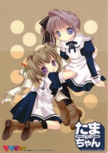 Rating: Safe Score: 5 Tags: bottle_fairy dress fixme magi-chan maid pantyhose tama-chan tokumi_yuiko User: Radioactive