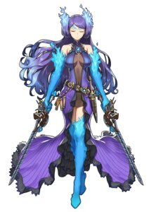 Rating: Safe Score: 36 Tags: dress duplicate kagutsuchi nintendo saitom sword thighhighs xenoblade xenoblade_chronicles_2 User: fly24