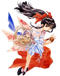 Rating: Safe Score: 2 Tags: lachette_altair sakura_taisen shinguuji_sakura User: Radioactive