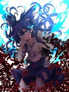 Rating: Safe Score: 35 Tags: rihito_(usazukin) tattoo touhou yorigami_shion User: Nepcoheart