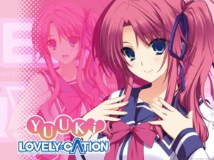 Rating: Safe Score: 28 Tags: akatsuki-works amagase_yuuki iizuki_tasuku lovely_x_cation wallpaper User: girlcelly