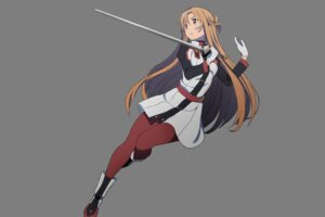 Rating: Safe Score: 45 Tags: adachi_shingo asuna_(sword_art_online) pantyhose sword sword_art_online sword_art_online_ordinal_scale transparent_png User: Korino