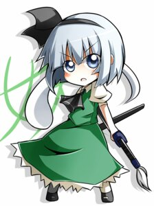 Rating: Safe Score: 9 Tags: chibi konpaku_youmu myon nosada touhou User: Amperrior
