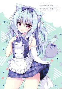 Rating: Safe Score: 15 Tags: animal_ears hellrun nekomimi pantsu skirt_lift User: kiyoe