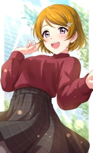 Rating: Safe Score: 18 Tags: koizumi_hanayo love_live! sekina skirt_lift sweater tagme User: saemonnokami