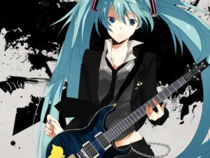 Rating: Safe Score: 19 Tags: guitar hatsuko hatsune_miku vocaloid User: Amperrior