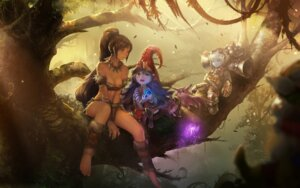 Rating: Safe Score: 103 Tags: cleavage instant-ip league_of_legends lulu_(league_of_legends) nidalee teemo tristana_(league_of_legends) wallpaper User: Forbidden