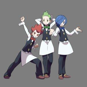 Rating: Safe Score: 6 Tags: corn_(pokemon) dento_(pokemon) male nintendo pod_(pokemon) pokemon pokemon_black_and_white sugimori_ken transparent_png uniform User: Radioactive
