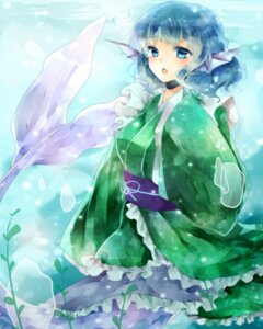 Rating: Safe Score: 15 Tags: mermaid ougi touhou wakasagihime User: Rainbow-Falls