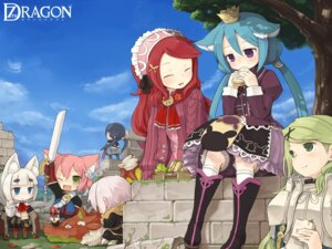 Rating: Safe Score: 13 Tags: 7010 7th_dragon animal_ears chibi princess_(7th_dragon) sword User: Nekotsúh