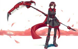 Rating: Safe Score: 36 Tags: dress hitogome pantyhose ruby_rose rwby weapon User: zero|fade
