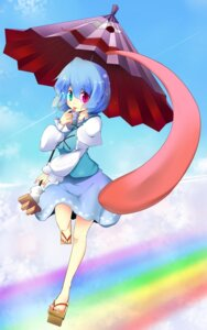 Rating: Safe Score: 16 Tags: bell_(satappe) heterochromia tatara_kogasa touhou User: fairyren