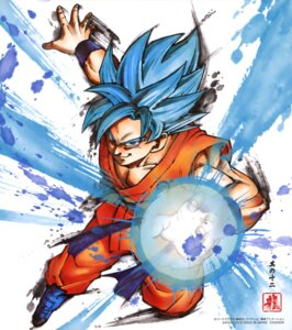 Rating: Safe Score: 17 Tags: dragon_ball dragon_ball_super son_goku User: drop