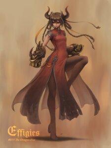 Rating: Safe Score: 30 Tags: dress heels horns nishi pantyhose weapon User: Mr_GT