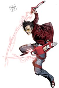 Rating: Safe Score: 10 Tags: kozaki_yuusuke male megane no_more_heroes sword travis_touchdown User: Radioactive