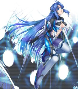 Rating: Safe Score: 20 Tags: bodysuit cleavage kos-mos ohse xenosaga User: Radioactive