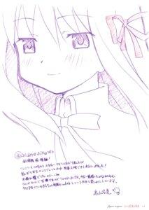 Rating: Safe Score: 6 Tags: akemi_homura monochrome puella_magi_madoka_magica sketch toriyama_fugumi User: Hatsukoi