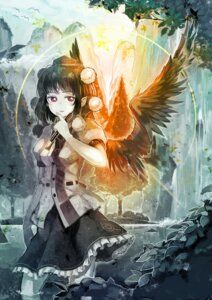 Rating: Safe Score: 17 Tags: orga shameimaru_aya touhou User: itsu-chan