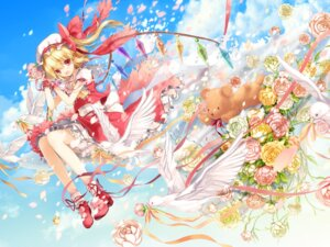 Rating: Safe Score: 52 Tags: 6u flandre_scarlet touhou wallpaper User: fairyren