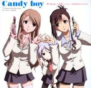 Rating: Safe Score: 10 Tags: candy_boy disc_cover kamiyama_sakuya pantyhose sakurai_kanade sakurai_yukino screening User: hirotn