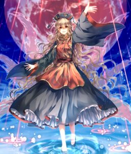Rating: Safe Score: 25 Tags: dress fuuna_(conclusion) heels junko tail touhou User: LolitaJoy