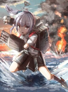 Rating: Safe Score: 21 Tags: kantai_collection kasumi_(kancolle) oshidori_iwashi seifuku User: Mr_GT