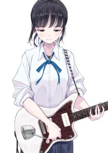 Rating: Safe Score: 22 Tags: guitar hasisisissy seifuku User: hiroimo2