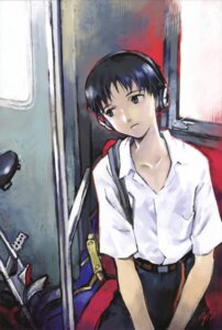 Rating: Safe Score: 17 Tags: headphones ikari_shinji male neon_genesis_evangelion sadamoto_yoshiyuki seifuku User: vkun