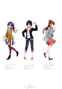 Rating: Safe Score: 25 Tags: abe_yuriko dress fujii_yasuo heels imai_midori kojima_asuka sakaki_shiinaka shirobako toudou_misa User: drop