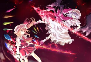 Rating: Safe Score: 13 Tags: flandre_scarlet hisago remilia_scarlet touhou User: Tensa
