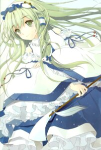 Rating: Safe Score: 23 Tags: kochiya_sanae microstoria tommy touhou User: thfp