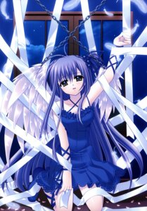 Rating: Safe Score: 24 Tags: dress nishimata_aoi wings User: fireattack