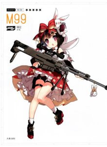 Rating: Questionable Score: 13 Tags: bike_shorts girls_frontline gun heels m99_(girls_frontline) saru User: Radioactive