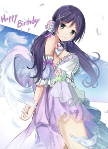 Rating: Safe Score: 70 Tags: dress karumayu love_live! toujou_nozomi wings User: Mr_GT