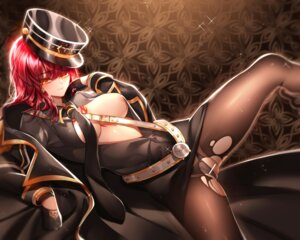 Rating: Questionable Score: 16 Tags: areola been breasts censored elsword no_bra open_shirt pantsu pantyhose pussy skirt_lift tattoo torn_clothes uniform User: Dreista