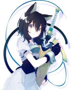 Rating: Safe Score: 18 Tags: animal_ears armor furan_(tensei_shitara_ken_deshita) nekomimi ruroo sword tail tensei_shitara_ken_deshita User: john.doe