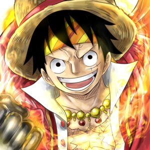 Rating: Safe Score: 14 Tags: male monkey_d_luffy one_piece sharumon User: charunetra