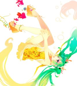 Rating: Safe Score: 19 Tags: dress hatsune_miku kyama vocaloid User: Nekotsúh