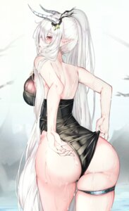 Rating: Questionable Score: 83 Tags: arknights ass garter horns jjkl9195 pointy_ears shining_(arknights) swimsuits wet User: BattlequeenYume