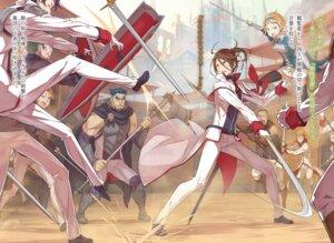 Rating: Safe Score: 10 Tags: armor ootsuka_shinichirou re_zero_kara_hajimeru_isekai_seikatsu re_zero_kara_hajimeru_isekai_seikatsu_ex sword thighhighs uniform weapon User: kiyoe