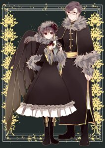 Rating: Safe Score: 9 Tags: china chizuko dress hetalia_axis_powers macau megane User: charunetra