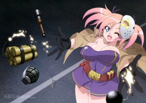 Rating: Questionable Score: 23 Tags: cleavage nashida_oriha pantsu takami_akio triage_x weapon User: drop